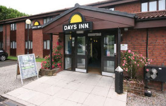 Außenansicht Days Inn Bridgend Cardiff Welcome Break Service Area