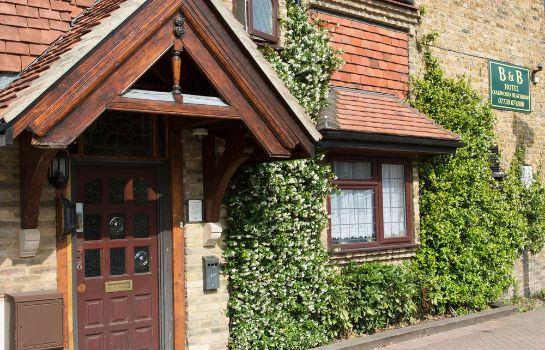 Vestíbulo del hotel Oakwood Bed and Breakfast Heathrow