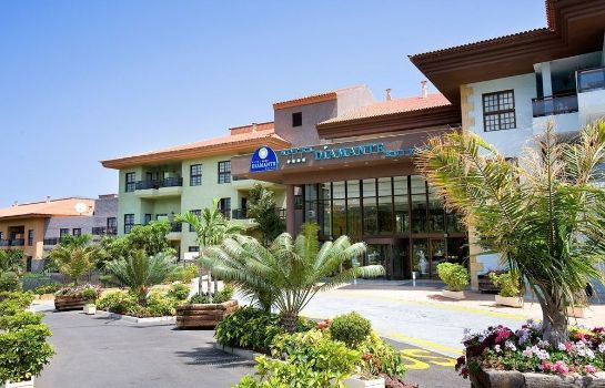 Exterior view Hotel Diamante Suites