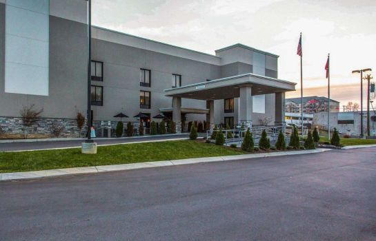 Vista esterna Quality Suites Nashville Airport