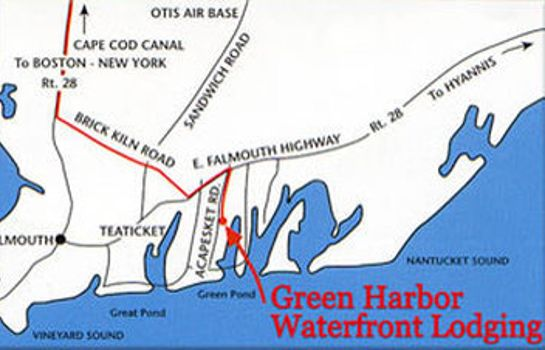 Info GREEN HARBOR WATERFRONT LODGING