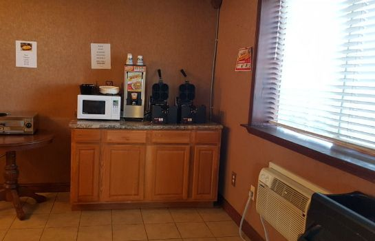 Sala de desayuno Knights Inn and Suites Grand Forks