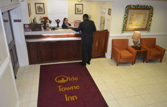 Reception Olde Town Inn