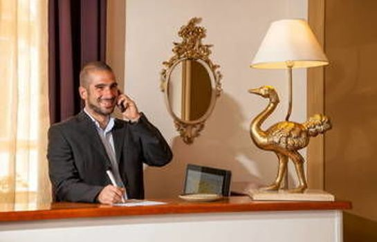 Empfang Hotel Sant'Angelo