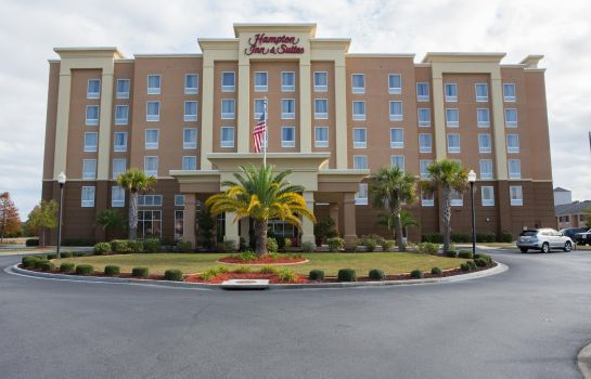 Außenansicht Hampton Inn - Suites Savannah - I-95 South - Gateway