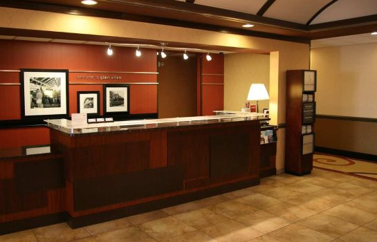 Lobby Hampton Inn - Suites Richmond-Virginia Center