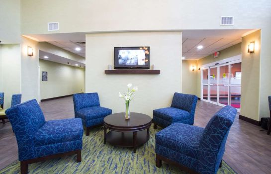 Hotelhalle Hampton Inn - Suites Savannah - I-95 South - Gateway