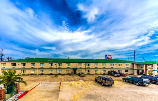 Vista exterior Texas Inn Channelview