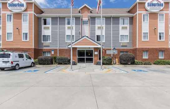 Exterior view Suburban Extended Stay Hotel Pensacola