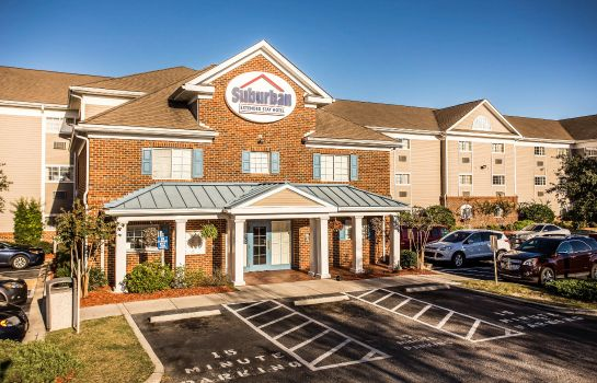 Exterior view Suburban Extended Stay Hotel Myrtle Beach