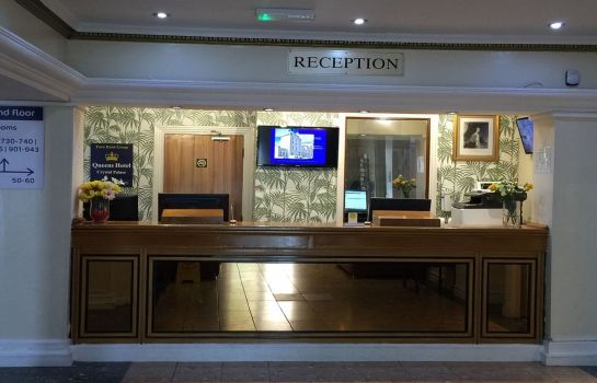 Reception Best Western London Queens Crystal Palace Euro Hotel