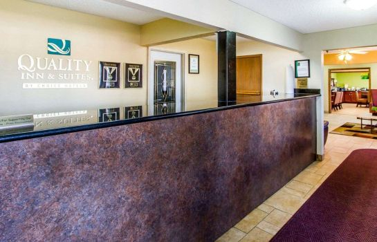 Hall de l'hôtel Quality Inn and Suites Ottumwa
