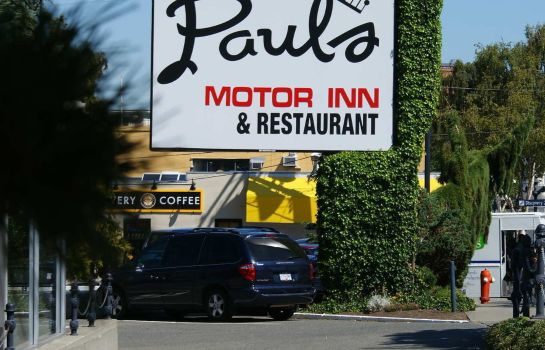 Vista exterior Paul's Motor Inn