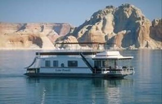 Buitenaanzicht LAKE POWELL RESORT
