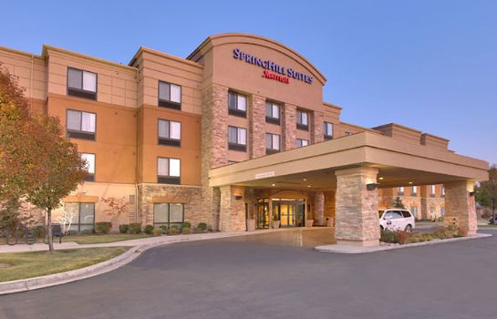Außenansicht SpringHill Suites Salt Lake City Downtown