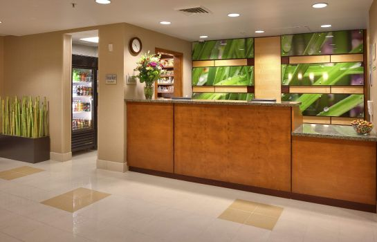Hotelhalle SpringHill Suites Salt Lake City Downtown