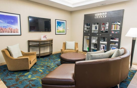 Hotelhalle Candlewood Suites VIRGINIA BEACH/NORFOLK