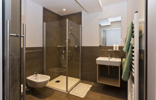 Bagno in camera Alpinhotel Keil