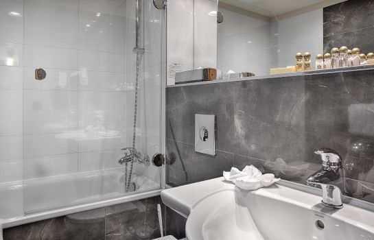 Badezimmer Majestic Plaza Prague