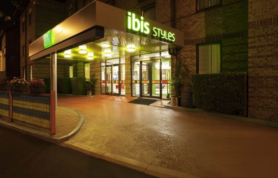 Vista esterna ibis Styles London Walthamstow