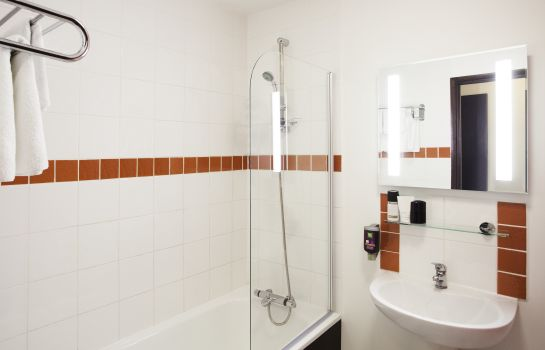 Bagno in camera ibis Styles London Walthamstow