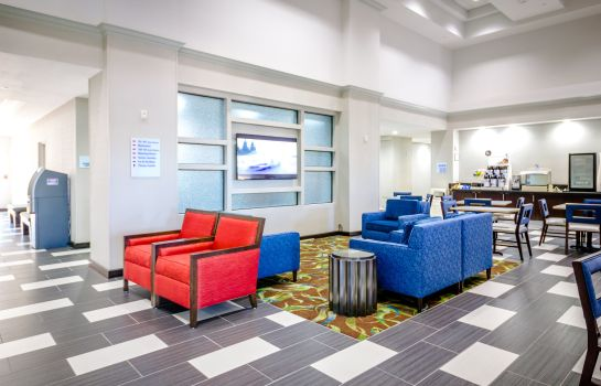 Hotelhalle Holiday Inn Express & Suites AUSTIN AIRPORT