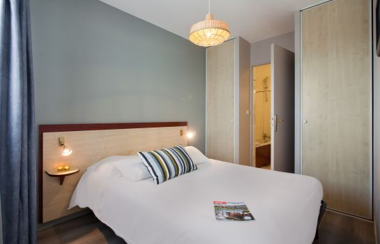 Chambre double (confort) APPART'CITY CAEN