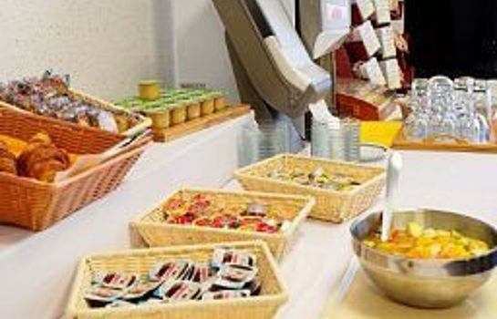 Ontbijtbuffet Appart City Nancy Residence Hoteliere