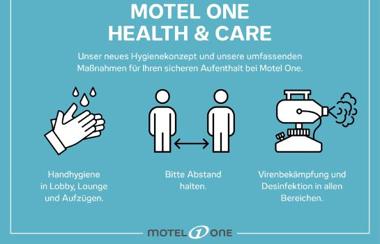 Zertifikat/Logo Motel One Eastside