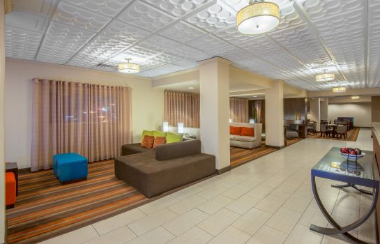 Hall de l'hôtel Holiday Inn Express EL PASO-CENTRAL