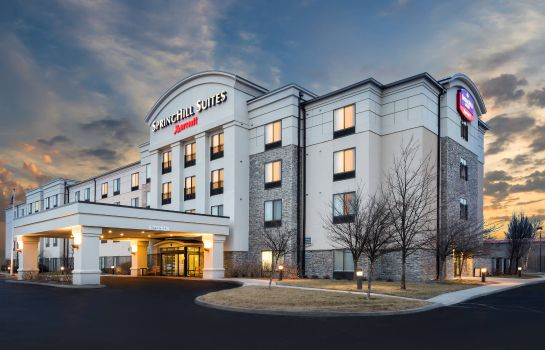 Außenansicht SpringHill Suites Indianapolis Fishers