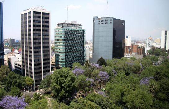 Außenansicht Holiday Inn Express MEXICO REFORMA
