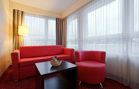 Pokój typu junior suite AZIMUT Hotel City South Berlin