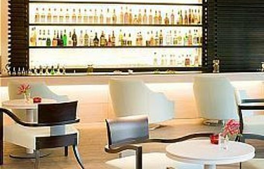Bar del hotel Starhotels Grand Milan