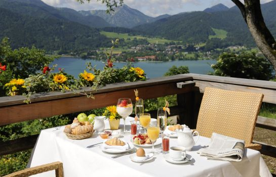 Breakfast room Der Westerhof Hotel in Tegernsee