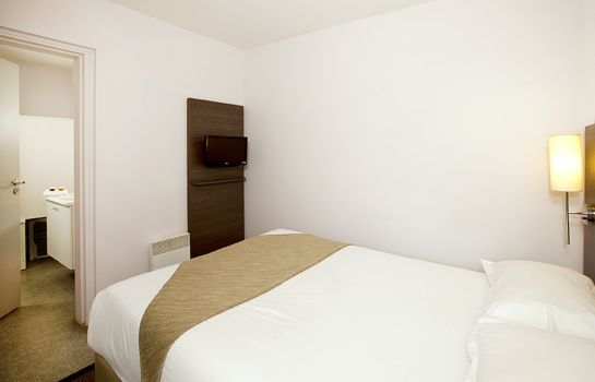 Chambre double (standard) Sejours & Affaires Residence Lille Europe Apparthotel