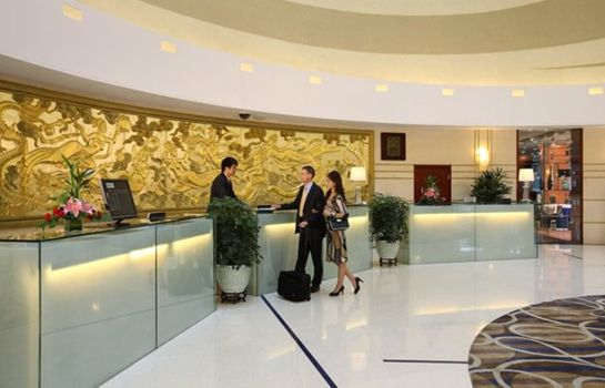 Empfang Ariva Beijing West Hotel & Serviced Apartment