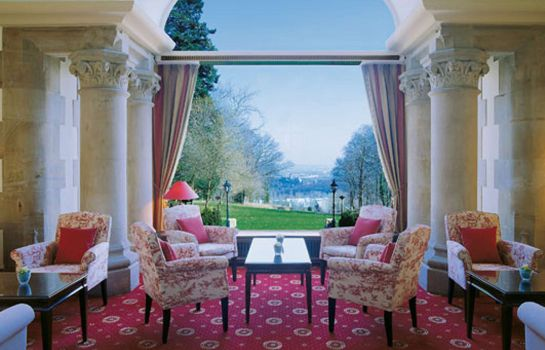 Vista all'interno Villa Rothschild Kempinski