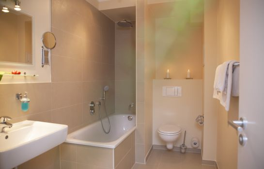 Bagno in camera Kiez Pension