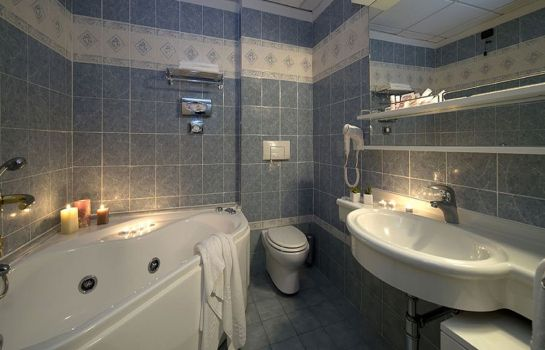 Bagno in camera Grand Hotel Admiral Palace
