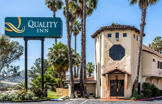 Vista esterna Quality Inn Fallbrook I-15