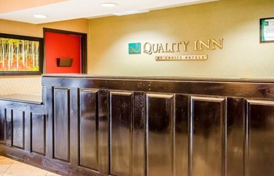 Lobby Quality Inn Carrollton