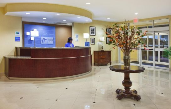 Hotelhalle Holiday Inn Express SAVANNAH AIRPORT