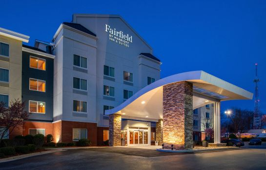 Außenansicht Fairfield Inn & Suites Greensboro Wendover