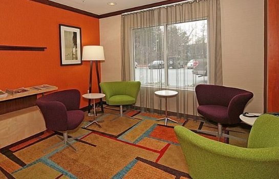 Lobby Fairfield Inn & Suites Greensboro Wendover