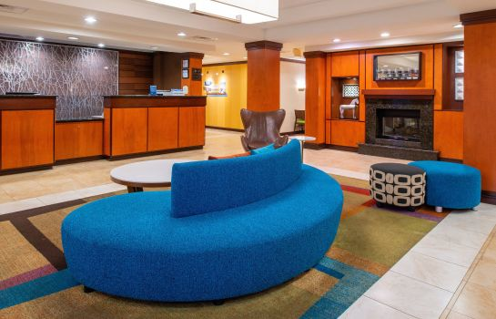 Hotelhalle Fairfield Inn & Suites Greensboro Wendover
