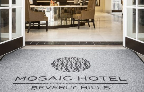 Hotelhalle The Mosaic Hotel Beverly Hills