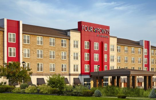 Buitenaanzicht Four Points by Sheraton Moncton