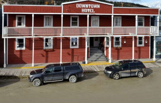 Widok zewnętrzny Canadas Best Value Inn Downtown Hotel Dawson City
