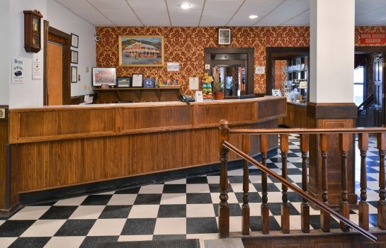 Hol hotelowy Canadas Best Value Inn Downtown Hotel Dawson City